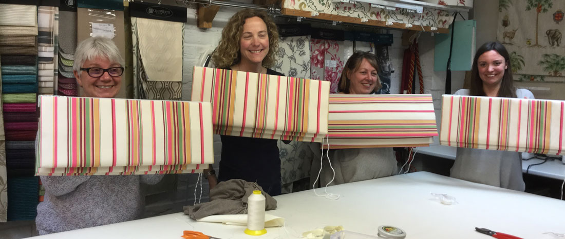Roman Blind Making Courses