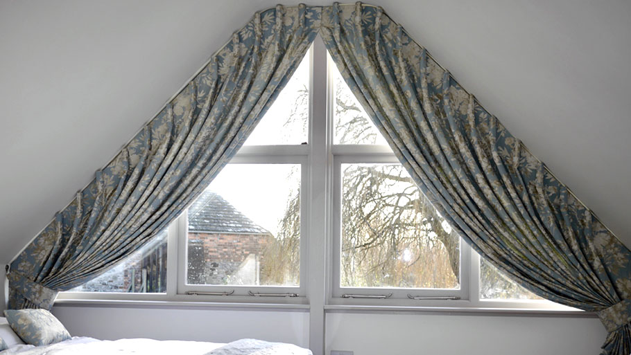 Curtains for Shaped Windows
